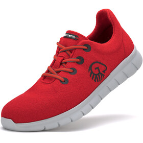 Giesswein Merino Wool Runners Women flame red